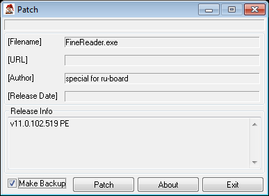 crack finereader 11 pro