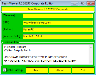 TeamViewer patch