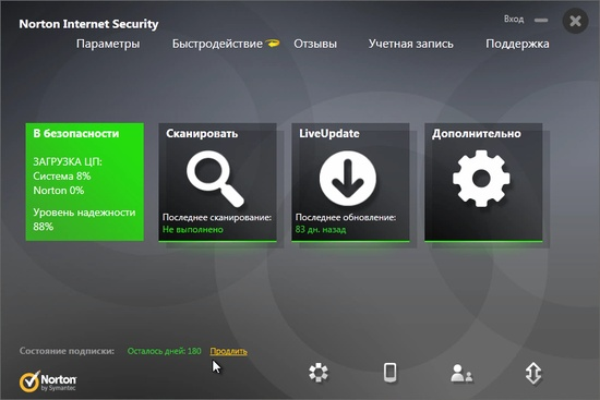Norton Internet Security Rus